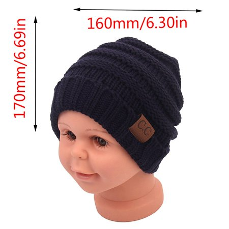 Solid Color Kids Monochrome Single Layer Cotton Hat Children's Hat Kids Hat - image 4 de 7