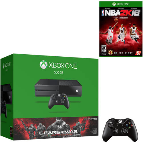 Xbox One Console Bundle with Controller and Bonus NBA 2K16