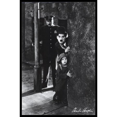 Charlie Chaplin - The Kid Poster Poster -