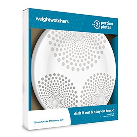Weight Watchers Portion Plates   Set Of 2