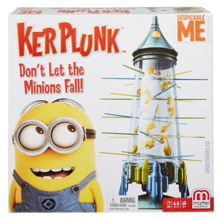 KerPlunk Minions Game- Don't Let the Minions Fall! - Minion Rush Halloween Game