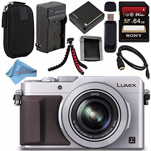 Panasonic Lumix DMC-LX100 DMC-LX100S Digital Camera (Silv...