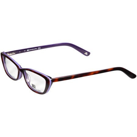 JLo Women\'s Optical Frames Frames, Tortoise and Lavender - Walmart.com
