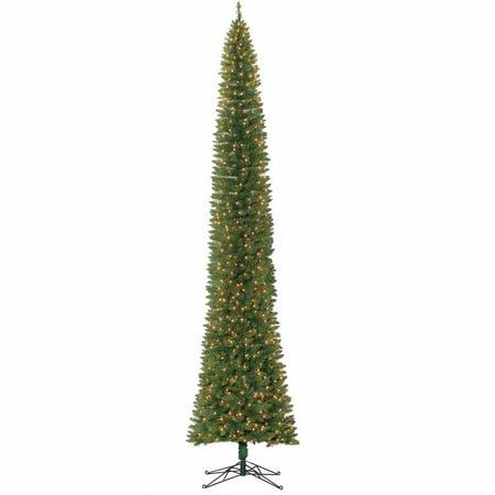 9 or 12 ft pre lit christmas tree