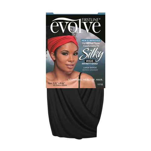 Firstline Evolve Silky Wide Large Infinity Band (Assorted Colors)