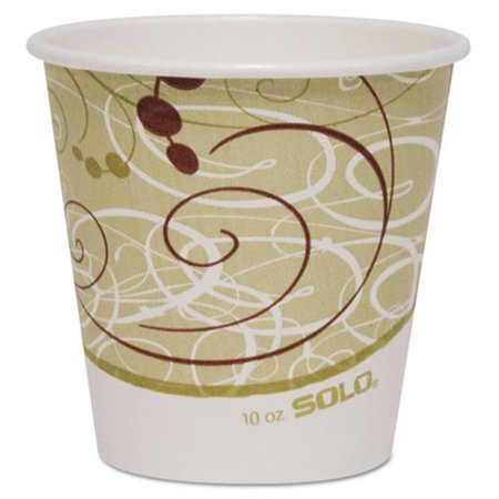 Solo Cup 410SMSYM Polycoated Hot Paper Cups, 10 oz. Symphony (Kimber Solo Cdp For Sale In Stock)