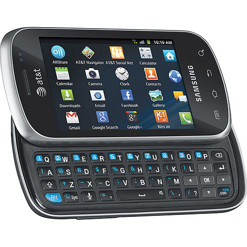 AT&T GoPhone Samsung I827 Galaxy Appeal, Black