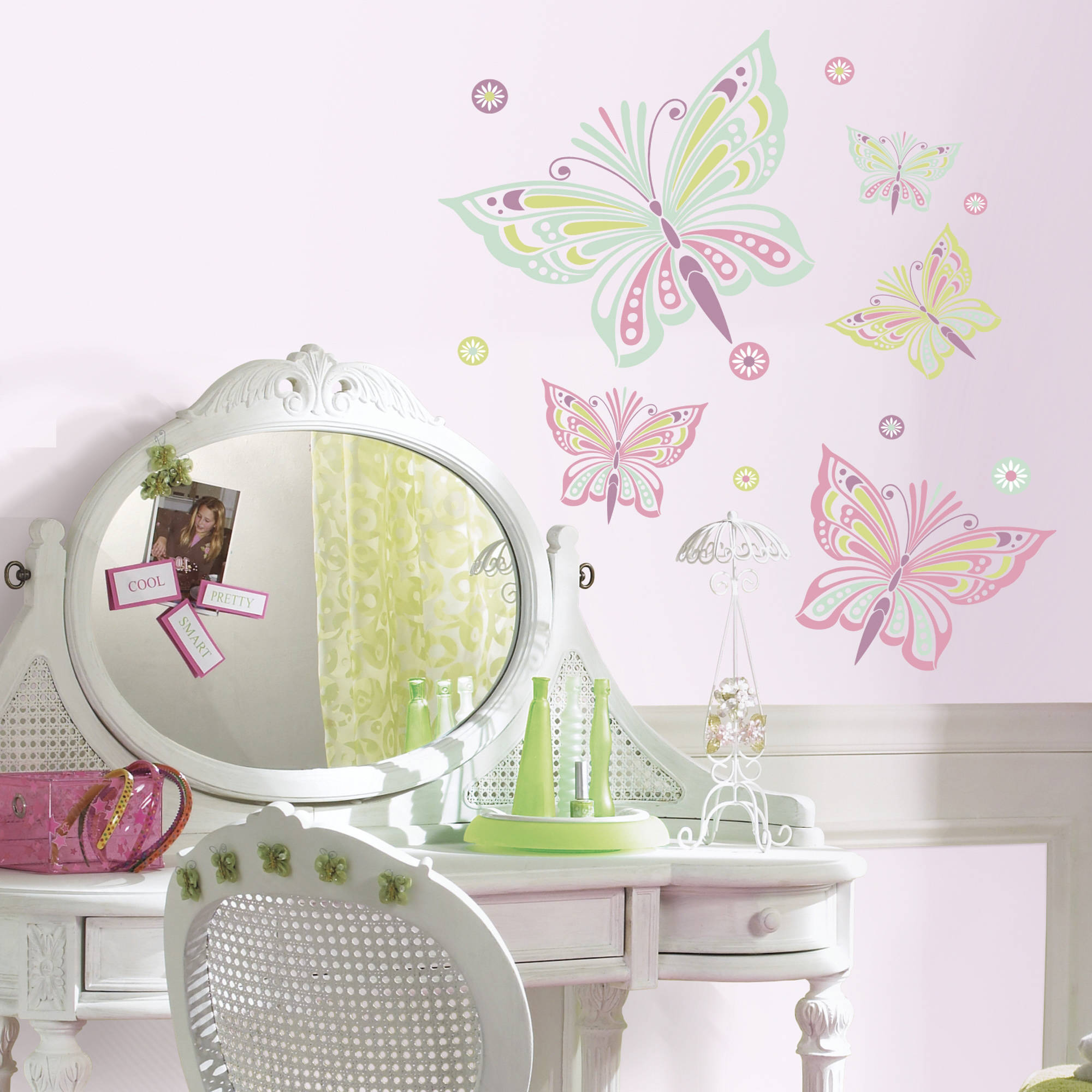 Waverly Butterfly Peel and Stick Giant Wall Decals
