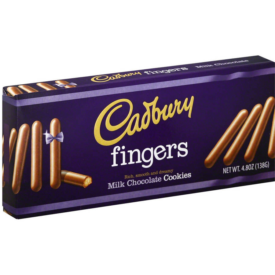 Cadbury Fingers Milk Chocolate Cookies, 4.8 oz, (Pack of 12)