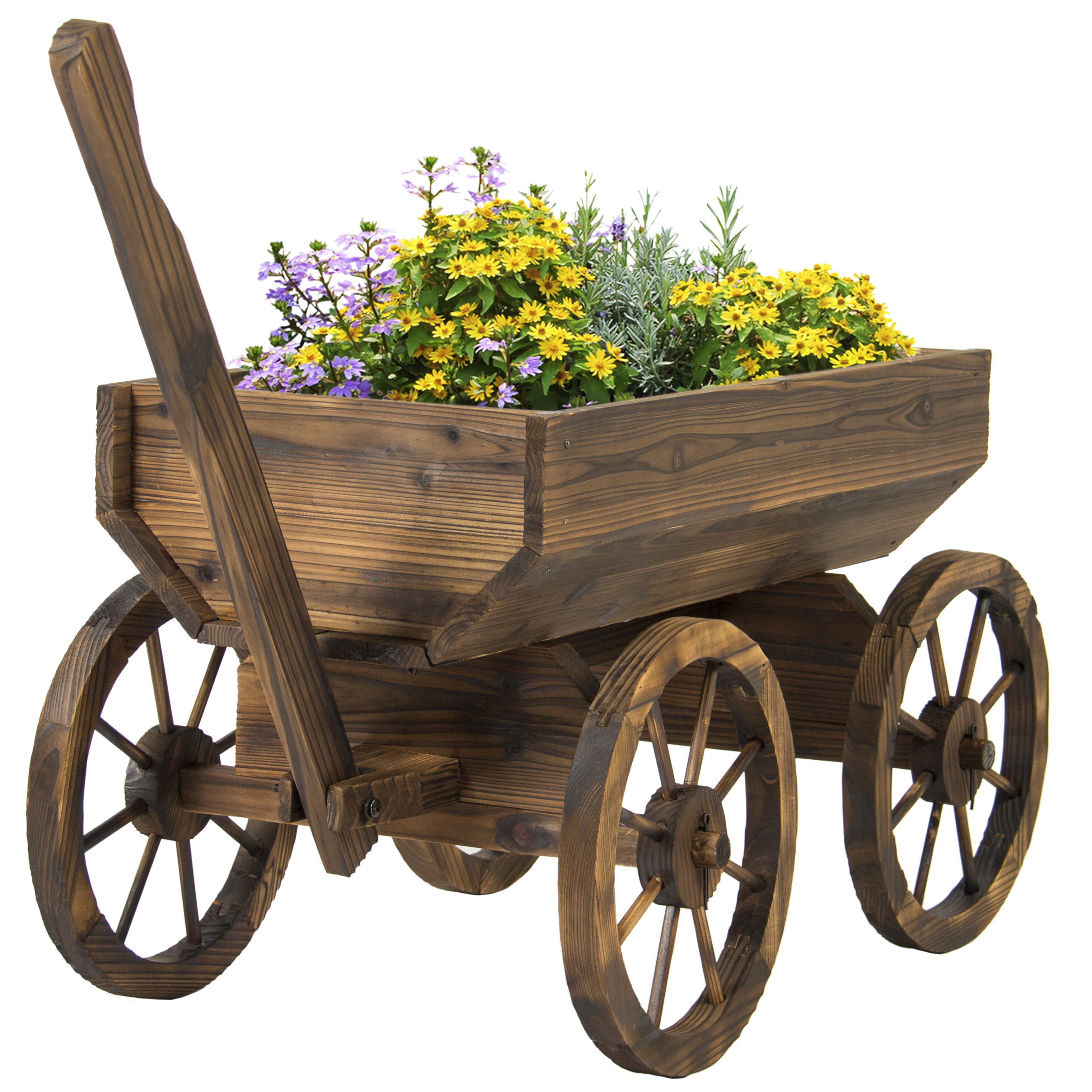Wooden Garden Wagon - Home Design Ideas and Pictures