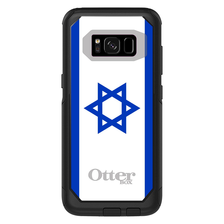 DistinctInk Custom Black OtterBox Commuter Series Case for Samsung Galaxy S8...