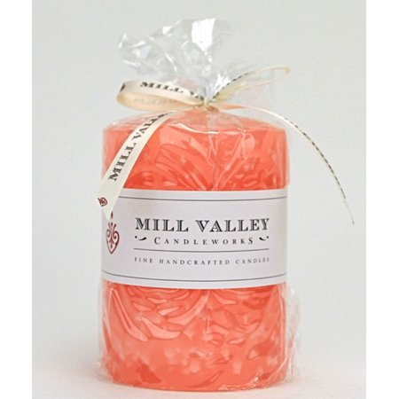 Mill Valley Candleworks Grapefruit Scented Pillar Candle