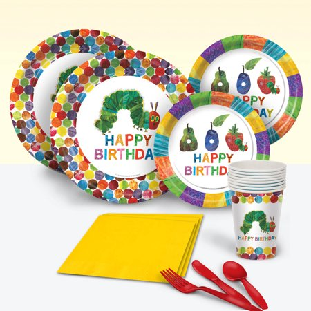 Very Hungry Caterpillar Party Pack for 8](Hungry Caterpillar Birthday Supplies)