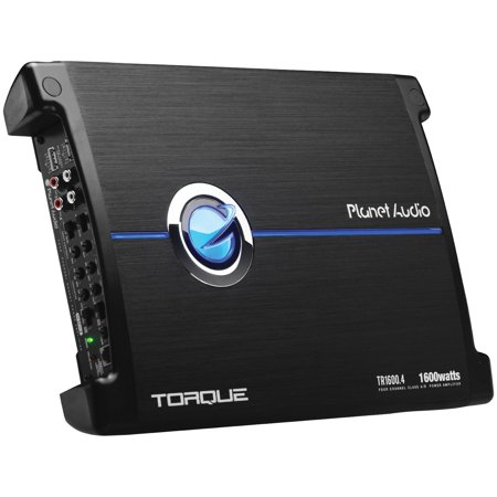 Planet Audio TR1600.4 Torque Series 4-channel Full-range Class AB Amp (1,600 Watts)