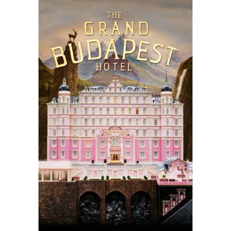 Grand Budapest Hotel Movie Poster Metal Sign 8in x (Hotel Metal)