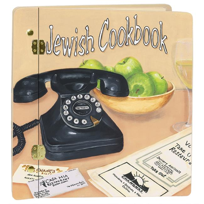 Lexington Studios 12-Album:12009C Jewish Cookbook Cream Large Album by Lexington Studios