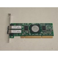 Refurbished QLogic  QLA2462 4GB Dual Port Fibre Channel PCI-X Host Bus Adapter