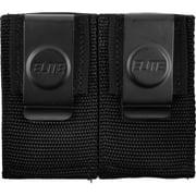 Elite Survival Systems Dual Open Mag Pouch w/ Clip, Single Column 9mm + .40 + .4