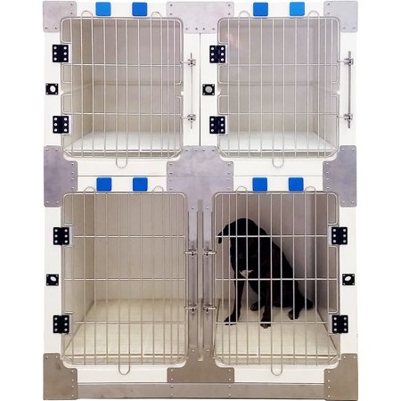 Fiberglass 3 Or 4 Unit Professional Cage Bank Kit