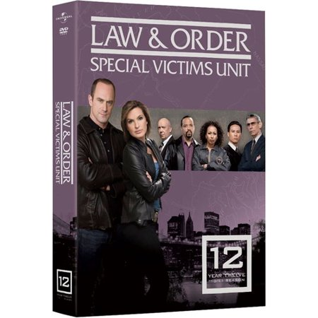 Law & Order Special Victims Unit: Year 12 (DVD)