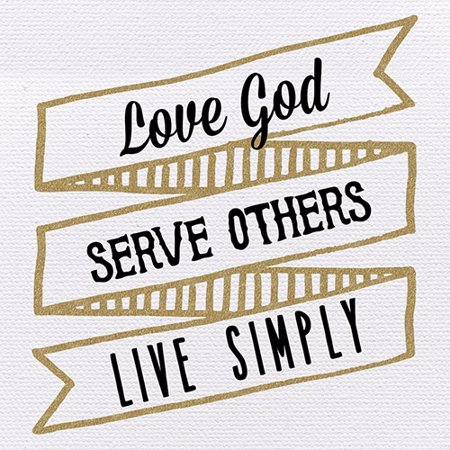 Live Well Plaque (Plaque-Tabletop-Love Serve Live (4  x 4)