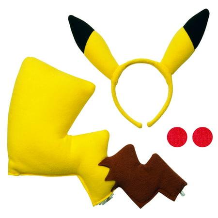 Pikachu Pokemon Costume Kit 32836 (Pokemon Trainer Costume)