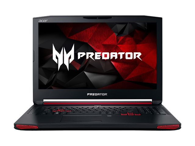 "Acer Predator 17"" Laptop Intel i7 2.80GHz 16GB Ram 1TB HDD 256GB SSD Win10Home (Certified Refurbished) by Acer"