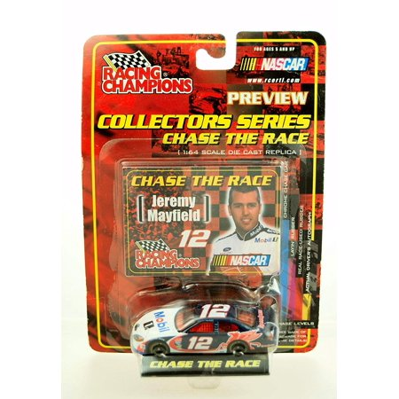 2001 - Ertl - - NASCAR - Chase the Race Series - Jeremy Mayfield #12 - Mobil 1 - Ford Taurus - 1:64 Scale Die Cast - Limited Edition -.., By Racing