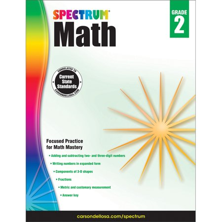 Spectrum Of Colors (Spectrum Spectrum Math Workbook, Grade 2 160)
