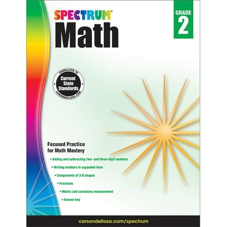 Spectrum Spectrum Math Workbook, Grade 2 160 - Halloween Math Printables 6th Grade