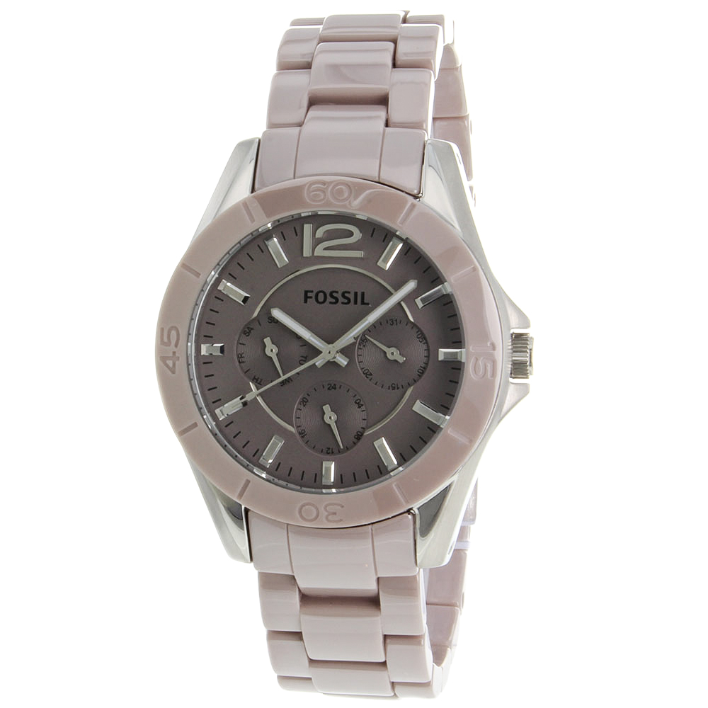 Fossil Women's Riley Watch Quartz Mineral Crystal CE1065