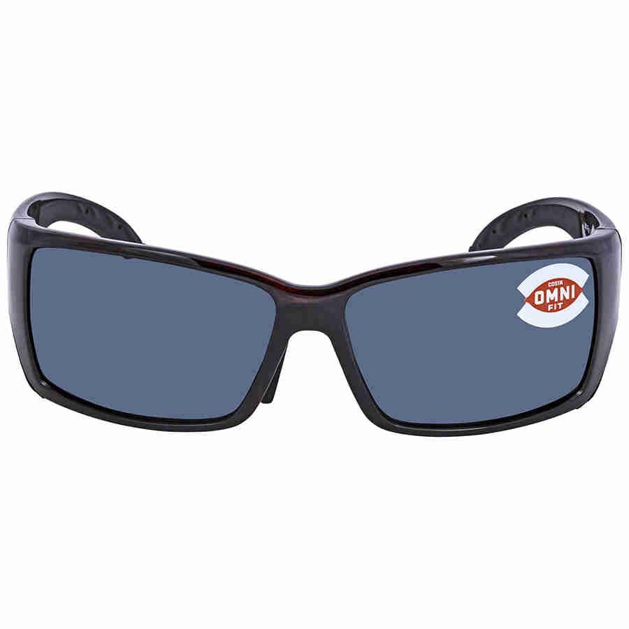 558061b7e6ecd Costa Del Mar - Costa Del Mar Blackfin BL 10GF Tortoise Global Fit  Sunglasses Grey Lens 580P - Walmart.com