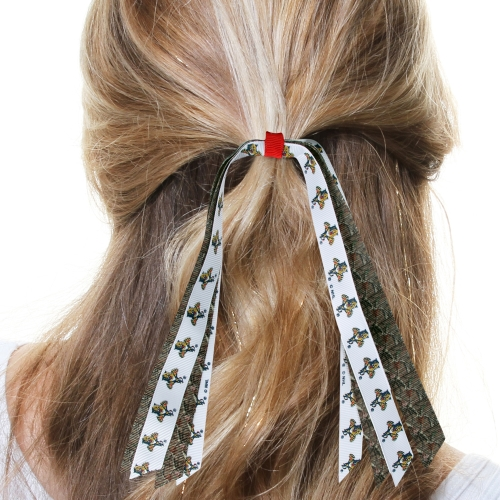 Florida Panthers Women's Mini Ponytail Hair Streamer - Mossy Oak - No Size