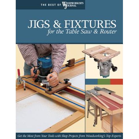 Jigs & Fixtures for the Table Saw & Router (Best Cheap Router Table)