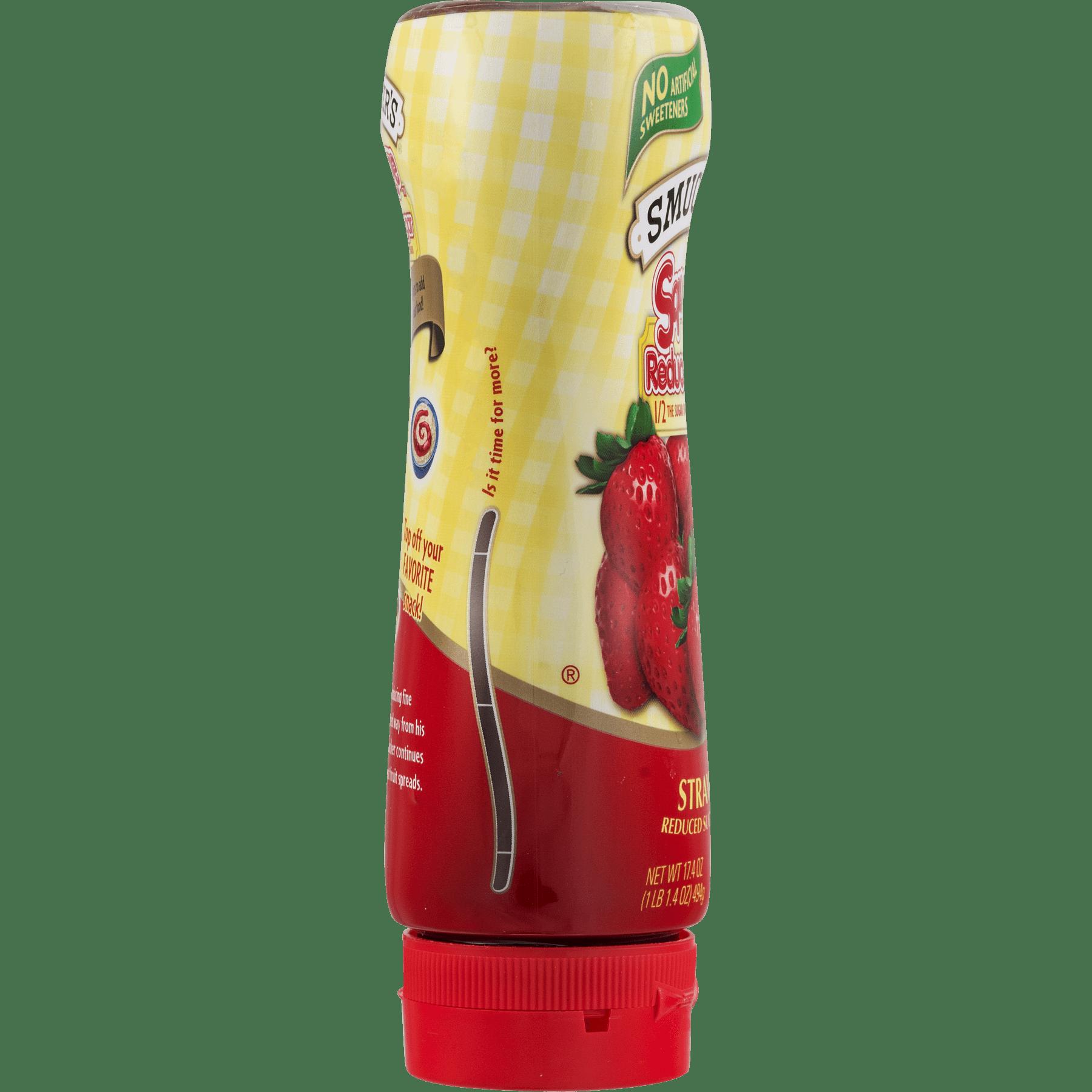 Smucker's Squeeze Reduced Sugar Fruit Spread Strawberry, 17.4 oz