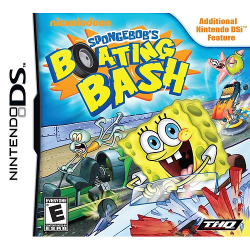 SpongeBob Squarepants: Boating Bash (DSi)