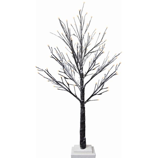 G.Debrekht 791-112 Holiday Splendor Glass Lighted Tree 30L 28 in. by G.Debrekht