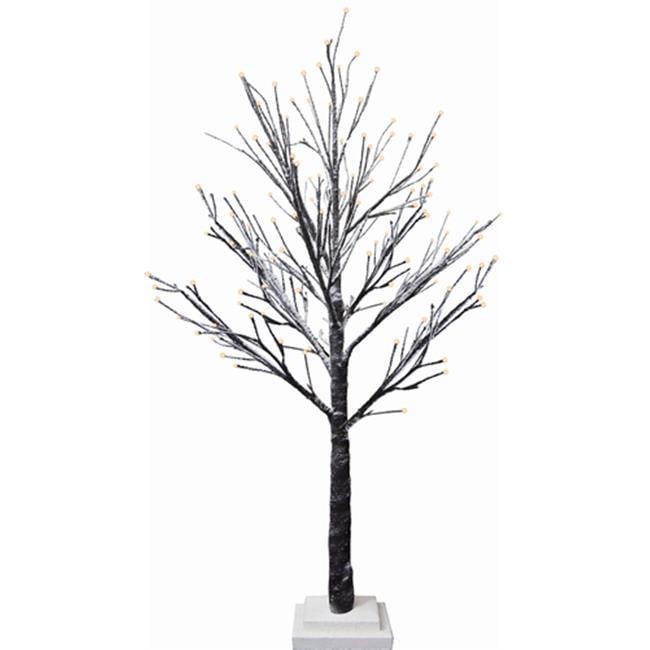 G.Debrekht 791-112 Holiday Splendor Glass Lighted Tree 30L 28 in.