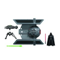 Star Wars MIssion Fleet Darth Vader TIE Advanced, Includes Figure and Vehicle
