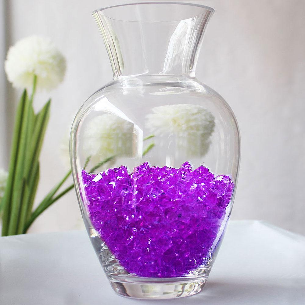 Efavormart 300 pcs  Large Acrylic Ice Crystals Wedding Party Table Scatters Decorations For Banquet Events Party Decorations
