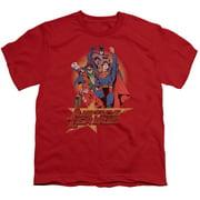 Jla - Raise Your Fist - Youth Short Sleeve Shirt - Small