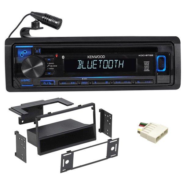 Kenwood CD Radio Receiver W/Bluetooth IPod/iPhone/ For