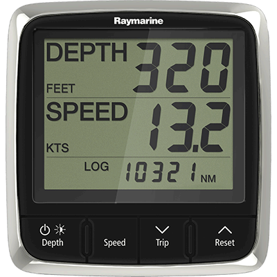 Raymarine E70149 Instru., Tri-Data, i50, w/Thru-Hull Xdcr