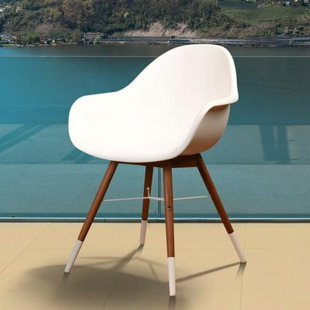 Amazonia  Hawaii White 4-piece Patio Dining Chair Set](Hawaiian Patio)