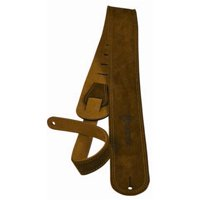 Martin 18A0027 Ball Leather Suede Guitar Strap Distressed