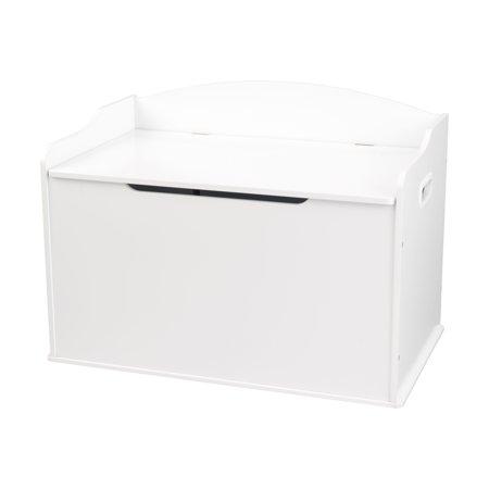 KidKraft Wooden Austin Toy Box - White