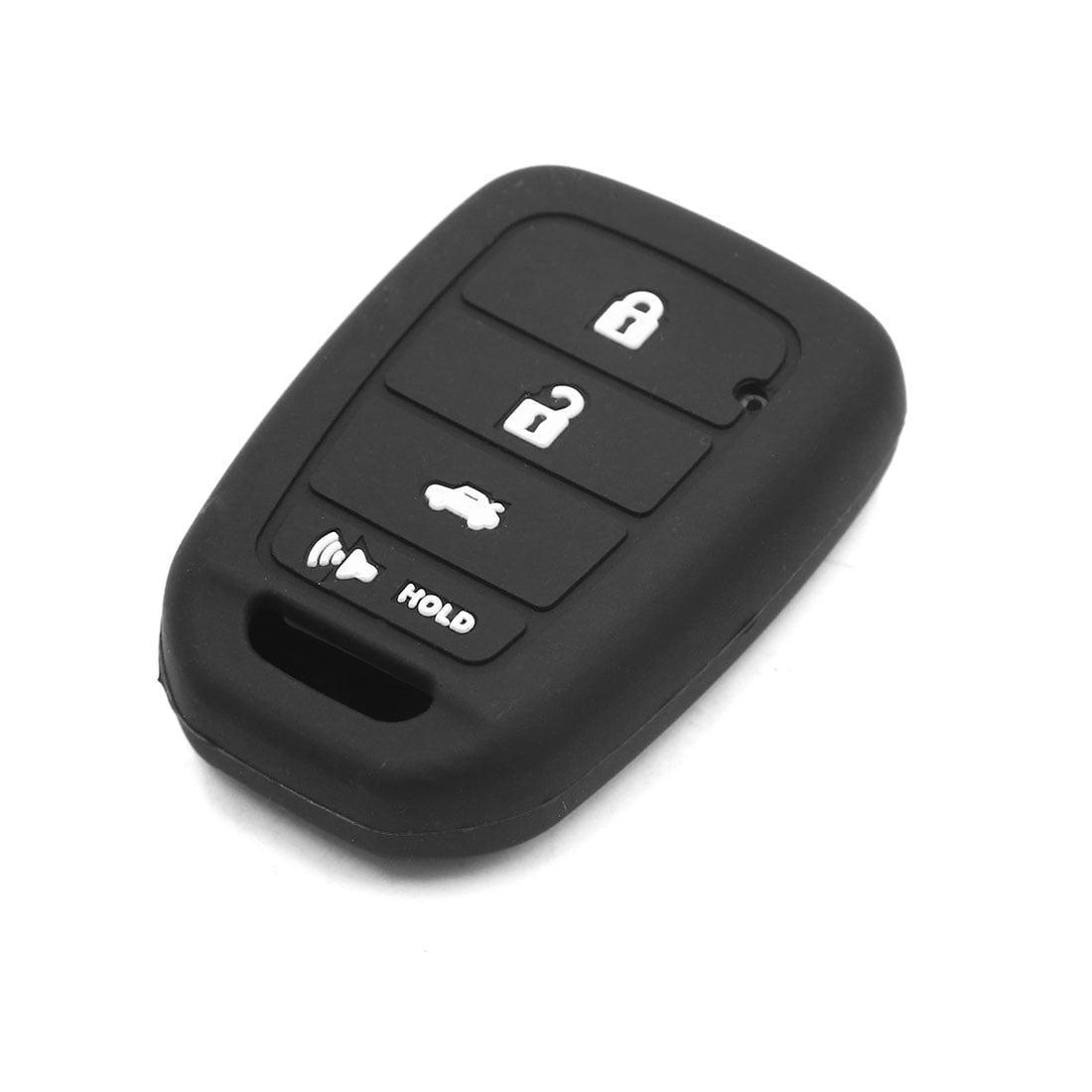 4 Button Rubber Car Remote Control Key Cover Case