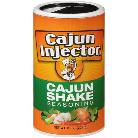 (2 pack) Zatarain's Cajun Injectors Cajun Shake Seasoning, 8 (Pasta Seasoning)