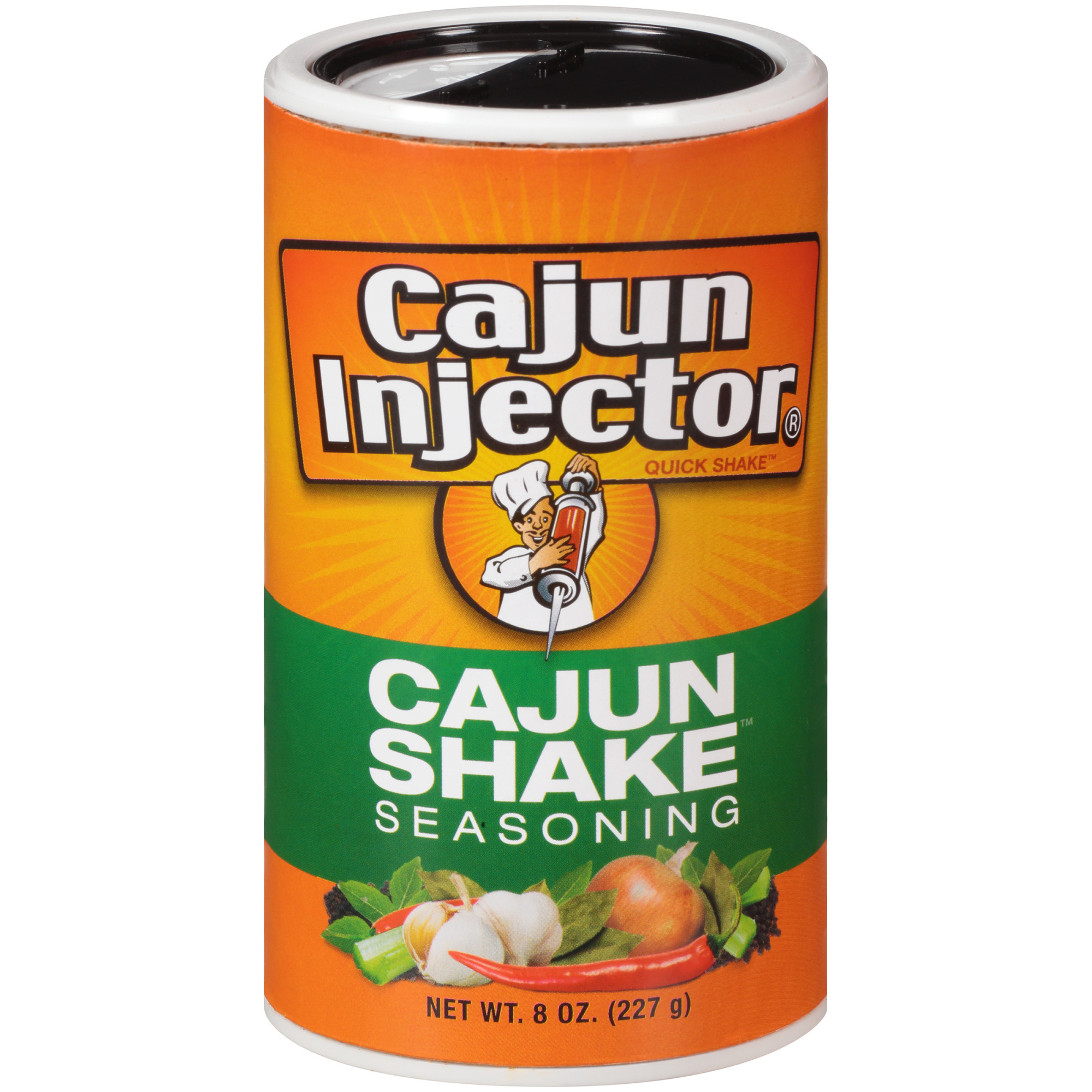(3 Pack) Zatarain's Cajun Injectors Cajun Shake Seasoning, 8 oz