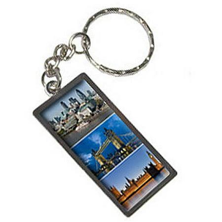 City Of London Big Ben Bridge Keychain Key Chain Ring
